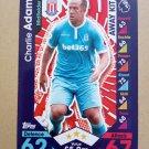 2016-17 Topps Match Attax Premier League #374 Charlie Adam Stoke City Away Kit