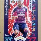 2016-17 Topps Match Attax Premier League #375 Fabio Borini Sunderland Away Kit