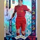 2016-17 Topps Match Attax Premier League #382 James Milner Liverpool Assist King
