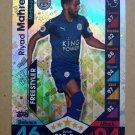 2016-17 Topps Match Attax Premier League #395 Riyad Mahrez Leicester City Freestyler