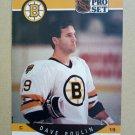 1990-91 Pro Set #13 Dave Poulin Boston Bruins
