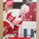 1990-91 Pro Set #71 Gerard Gallant Detroit Red Wings