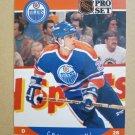 1990-91 Pro Set #92 Craig Muni Edmonton Oilers