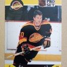 1990-91 Pro Set #294 Brian Bradley Vancouver Canucks