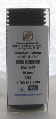 """Box/25 Buna-N 1-1/2"""" Tri Clamp Gaskets"""