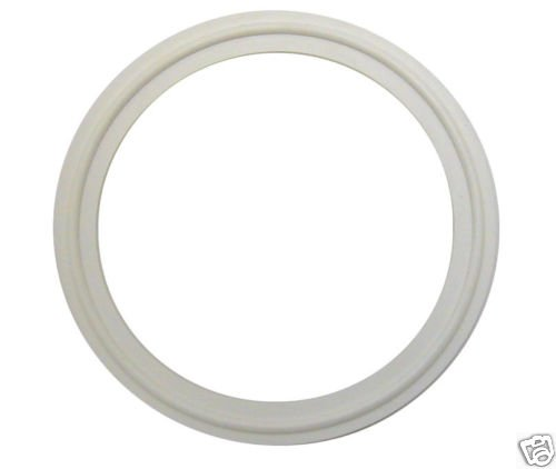"""WHITE BUNA TRI CLAMP SANITARY GASKETS 1 1/2""""  LOT OF 5"""