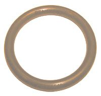 "BROWN VITON O-RINGS 228 QTY 5  2-1/4"" ID X  2-1/2"" OD"