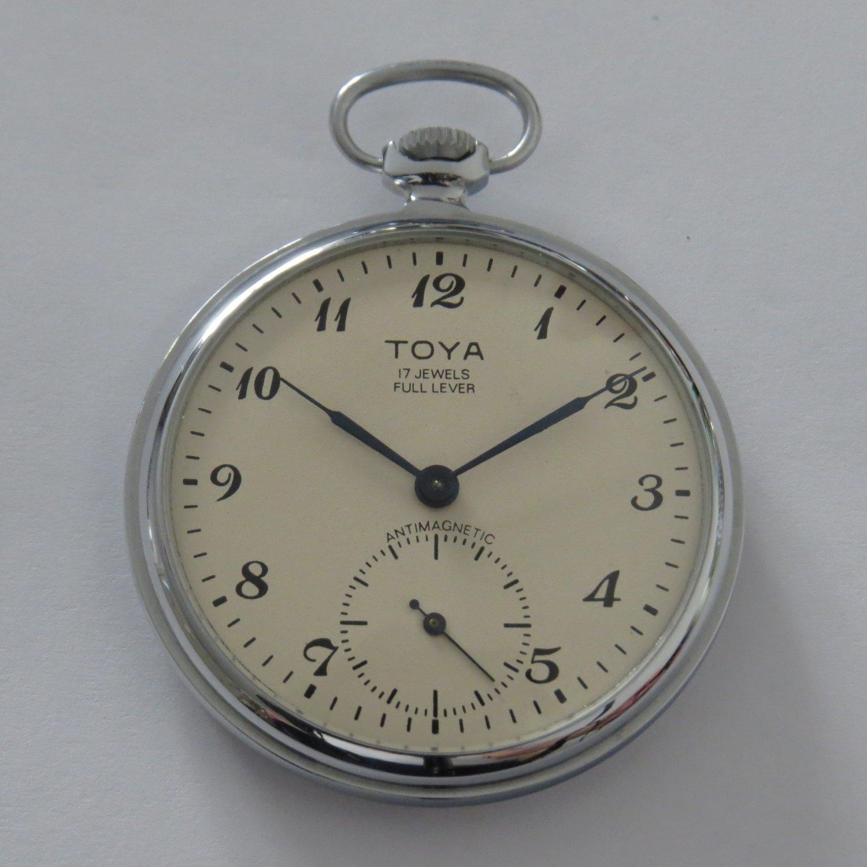 Pocket watch TOYA Molnija 3602 new unused