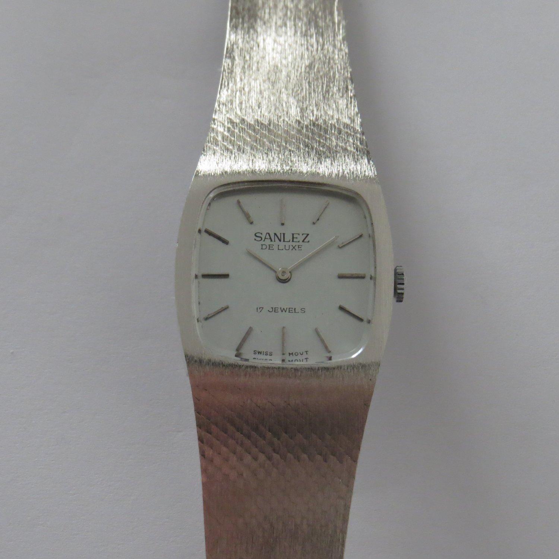 Watch SANLEZ New 17J Elegant classic Vintage NOS