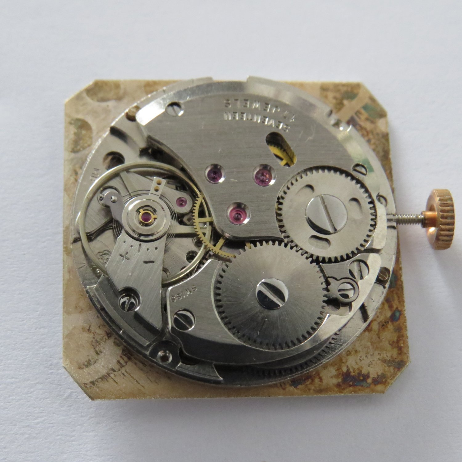 AS 1746/47 Mechanical 17 Jewel Movement NEW Swiss Made with date