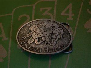Creech Holler Belt Buckle