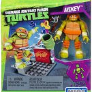 MEGA BLOKS TURTLES NICKELODEON MIKEY NUNCHUK TRAINING DMX27 - SHIPS WORLDWIDE