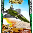 MEGA BLOKS ADVENTURE FORCE MILITARY JET FIGHTER 94410 - SHIPS WORLDWIDE
