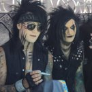 autograph drumstick black veil brides entire group