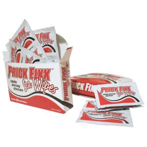 Prick Fixx Sea Wipes Piercing Aftercare - 1 Box of 30