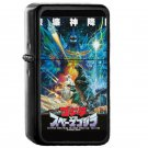 Epic Space Godzilla Poster - Electronic Windproof USB Electric Lighter - Rechargeable