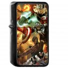 Avengers Liiust Comics Marvel Art Hero - Electronic Windproof USB Electric Lighter - Rechargeable