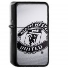 Manchester United Uniform Logo - Electronic Windproof USB Electric Lighter - Rechargeable
