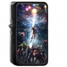 Marvel Infinity War Avengers Hero - Electronic Windproof USB Electric Lighter - Rechargeable