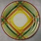 Metlox Vernon Kilns Poppy Trails Vernonware Homespun Salad Plate