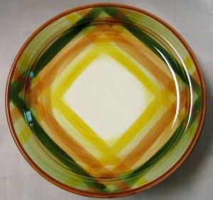 Metlox Vernon Kilns Poppy Trails Vernonware Homespun Bread & Butter  Plate