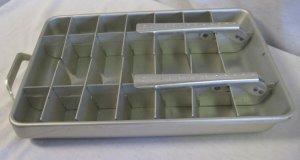 Vintage Frigidare Quickube Double Ice Cube AluminumTray
