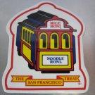 "Rice-a-Roni Noodle Roni San Francisco Treat Streetcar 7""x6"" Ceramic Trivet"