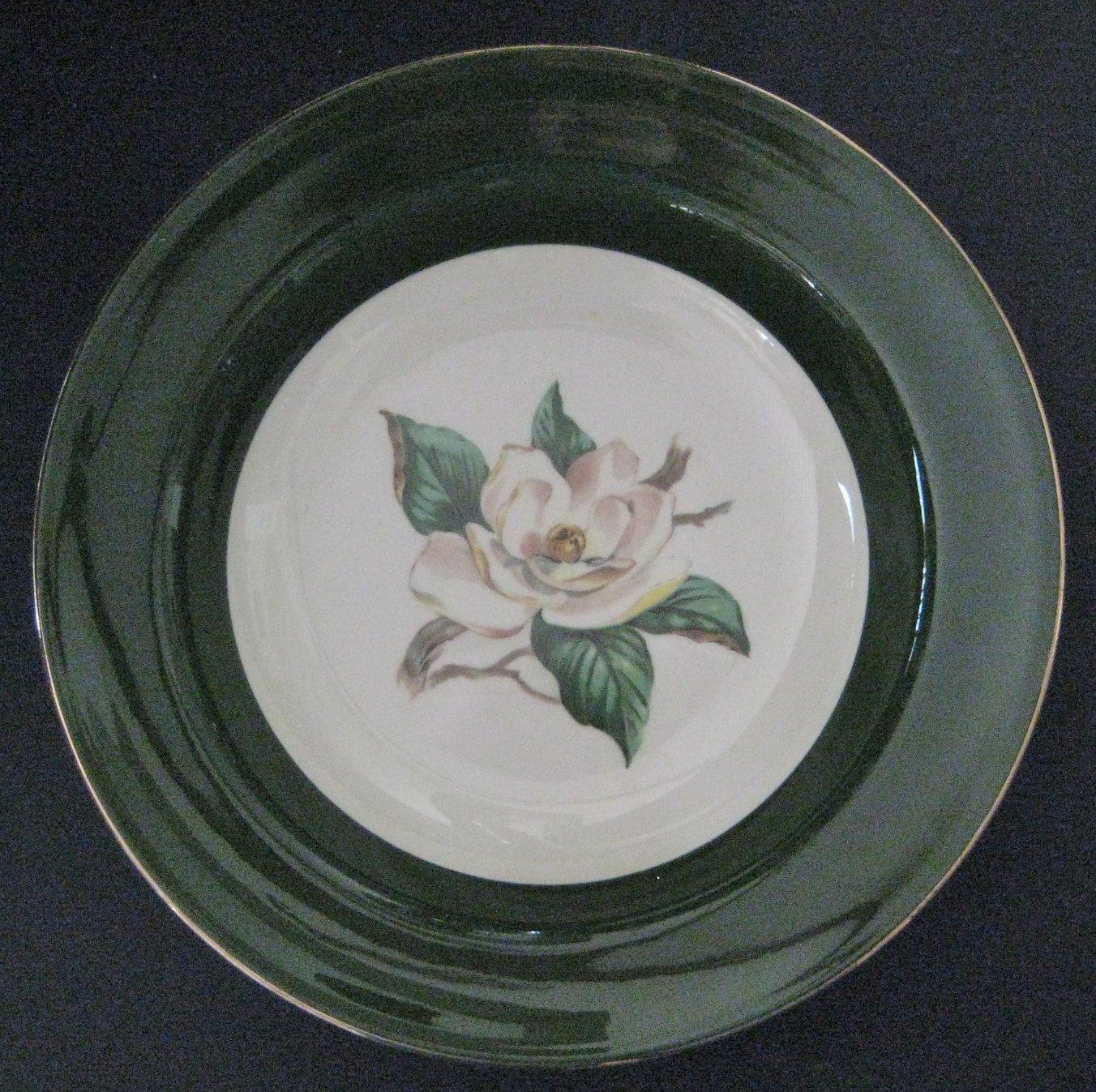 """Homer Laughlin Lifetime China Jaderose Rimmed Soup Bowl 8 3/8"""""""
