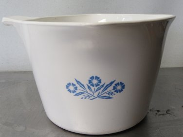 Corning Ware Blue Cornflower 4 Cup SauceMaker 32oz