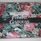 "Avon Floral Garden Large Travel Garment Bag 47.5"" x 21"" 1991 Still sealed NOS"