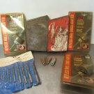 Huot Metal Drill Bit Case & Some Bits, Chucks Vintage Red Case Unknown