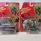 Johnny Lightning Hard Rock Art Iron Maiden 1956 Chevy Bus 1932 Ford Highboy