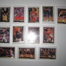Topps Basketball Gold Trim Cards 12 Total Blackwell-Perkins-Crotty-Sanders &More