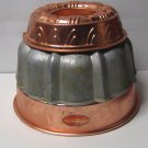 Aluminum/Anodized Bundt Jello Cake Mold Crown Ring Northland Used Vintage Lot 3