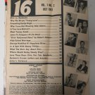 Teen Mag 16 July 1957 Elvis Presley vs. Harry Belafonte NO COVER Rare Magazine