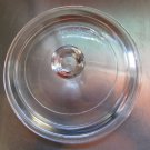 Pyrex Corning Casserole killet Lid Only P-81-C Replacement Round  LID Glass