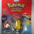 Pokemon #25 Pikachu Key Chain Gotta Catch Em All New Old Stock