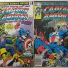 Captain America Marvel Comics Group Sept 1981 #261 & Aug 1982 #272 Used