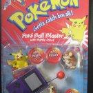 Pokemon Purple Poke Ball Blaster Battle Discs Pikachu, Raticate, Pidgey NOS