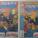 THUNDER STRIKE HE'S BACK CAGE #13 & #13 Double Feature Thunder Strike OCT 1994