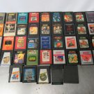 Atari Game Lot 41 Rare Mixed Games No Boxes, Some Rough Labels Untested