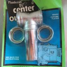 "Drain Center Outlet Tee Kitchen Sinks 1-1/2"" slip joint"