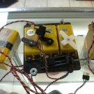 Kraft Servos, Servo tray, Battery, switch and charging jack. Vintage
