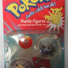 Pokemon Battle Figures Gengar #94 & Meowith #52 with Poke Ball and Battle Discs
