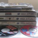 Sega Saturn Console Made April 1995 Made in Japan & Panzer Dragoon & 9 Others