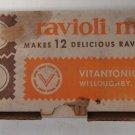 Vintage Vitantonio Mfg. Co. Ravioli Maker No. 512 Makes 12 Ravioli