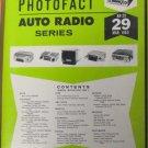 SAMS AUTO RADIO Series MANUAL(AR29) Electronics Only Manual 1965