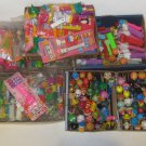 PEZ DISPENSER LOT COLLECTION OF 207 New and Used Variety Glows-Sours & More