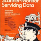 Sam SD 4 Police Scanner Monitor Servicing Data Service Manual Midland 13-912 930