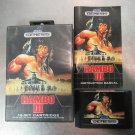 RAMBO III (Sega Genesis)  Classic Game Case & Manual